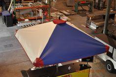 Marine Grade Vinyl Umbrella - www.TopDogCarts.com