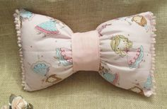 Check out this item in my Etsy shop https://www.etsy.com/listing/268388798/decorative-pillow-bow-pillow-girls