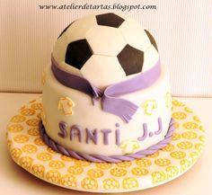 Tarta Fondant Cumpleaños Real Madrid