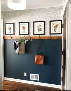 Simple & Affordable Fall Entryway - A special thanks to Walmart for sponsoring . , Simple & Affordable Fall Entryway - A special thanks to Walmart for sponsoring this post. Fall colors are my absolute favorite – If y - House Design, Home Accessories, House, Home Projects, Home, Home Remodeling, House Interior, Fall Entryway, Home Diy