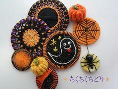 Halloween Buttons集合!