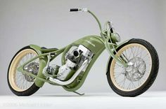 Trouble by Roger Goldammer | Goldammer Cycleworks | photo by Michael Lichter