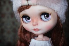 OOAK Custom Blythe doll hand painted art doll by by AlmondDoll, €800.00