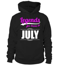 "# LEGENDS ARE BORN IN JULY .  These shirts are only available for LIMITED TIME!Guaranteed safe and secure checkout via:Paypal | VISA | MASTERCARD | AMEX | DISCOVERTIP: SHARE it with your friends, buy 2 shirts or more and you will save on shipping.* HOW TO ORDER?1. Select style and color2. Click ""Green Button""3. Select the size and quantity4. Enter shipping and billing information5. Done! Simple as that!"