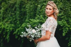 Twigsandhoney.com #weddingheadpiece