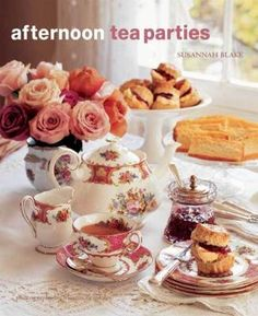 Afternoon Tea Parties is a lovely book by Susannah Blake