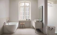 Vasca da bagno in acrilico e in materiali brevettati