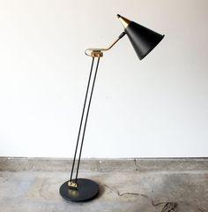 Gerald Thurston Floor Lamp For Lightolier by manlyvintage on Etsy, $1800.00