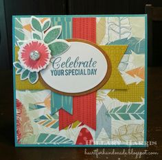 CTMH Free to be Me paper. Verve and MFT stamps. Sketch N Scrap Birthday Bash Sketch Challenge