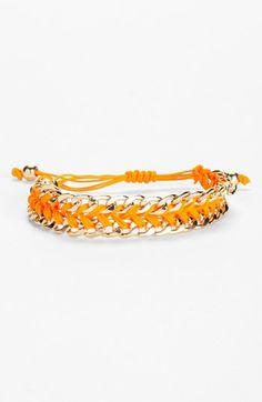 Tasha Cord & Link Friendship Bracelet available at #Nordstrom