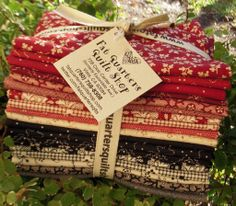 """The fat quarter bundles are now ready for this fabric collection that is absolutely beautiful! Designed by Judie Rothermel for Marcus Fabrics - Inkwell - """"Judie's warm, inviting palette and classic, well-scaled motifs lend themselves to traditional quilt designs, as well as more contemporary treatment,."""" $60 per bundle of 20 pieces :)"""