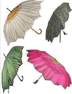 guarda chuva flor