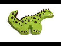Ideas de decoración de pasteles de cumpleaños: Fiesta de  Dinosaurio