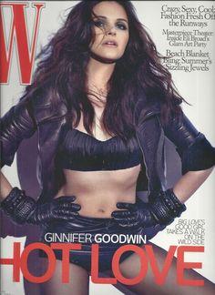 W magazine Ginnifer Goodwin Eli Broad glam art party Runway fashion Jewels