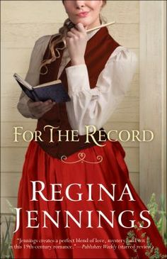 For the Record / Regina Jennings. This title is not available in Middleboro right now, but it is owned by other SAILS libraries. Follow this link to place your hold today!