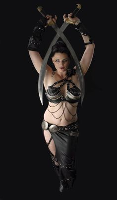@ms2722  you can totally borrow my sword and do this one! You'd look fierce! Belladonna from DC area