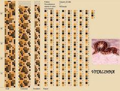 bead crochet snake pattern - Google'da Ara