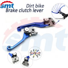 28.73$  Buy here - http://ali3uj.shopchina.info/go.php?t=32542940086 - For YAMAHA YZ 80/85 95-00 01 02-05 06 07 08 09 10 11 12 Dirt Bike FLEX Pivot Brake Clutch Lever clutch brake levers blue color 28.73$ #buymethat