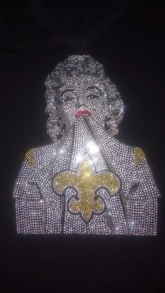 marilyn Monroe bedazzled