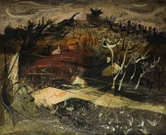 Welsh Landscape by John Piper Date painted: 1950