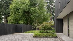 Wittman Estes Cedar Siding, Wood Siding, Cedar Fence, Chinese Courtyard, Clad Home, Chinese Landscape Painting, Seattle Homes, Garden Design, House Design