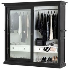 Eichholtz Savile Row Cabinet, they have a hotel project department. Black Painted Furniture, French Furniture, Vintage Furniture, Home Furniture, Furniture Design, Furniture Storage, Bedroom Furniture, Sweetpea And Willow, Shabby Chic Wardrobe