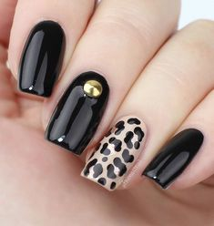 "Top 25 Pretty Dark Gel Nail Art Designs Trendy 2018 Have you heard that dark gel nail art is back? I didn't know that dark had ever went anyplace as it appears to have dependably been the shade of tastefulness and straightforwardness, yet Essence drew out a genuine dark inside their gel nail clean gathering and named it ""Dark is"