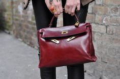 I'm not sure if words can describe how much I want this disgustingly expensive Hermes Kelly Bag.