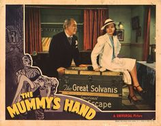 Lobby Card from the film The Mummy's Hand