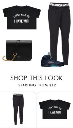 """""""Untitled #319"""" by nerdgirl14-boss on Polyvore featuring Under Armour, Retrò and Mulberry"""