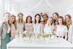 Bridal Shower Foto: @luisasolelulugr  Sweet Table: @cookandcookies  Blumen: @lilyblumen  Styling: @dominikabronner