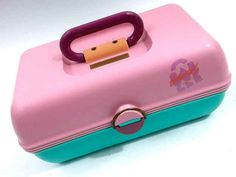 Organizing all your cosmetics, bath products, and jewelry in a Caboodle (which in itself was sort of the reason to buy tons of stuff to put inside it). | 53 Things Only '80s Girls Can Understand