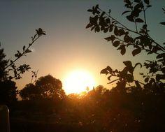 Sunrise on my balcony .#sunrise