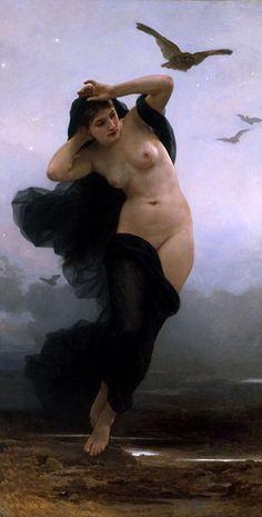 Nix, diosa primordial de la noche. (Public Domain)
