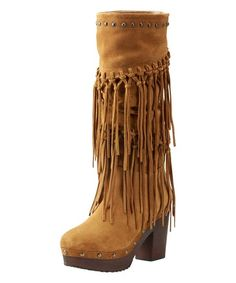 Ariat Wheat Fields Music Row Suede Boot   zulily