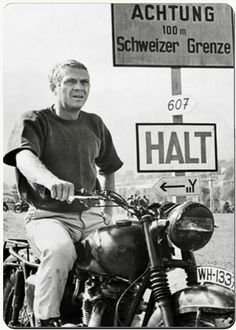 The Great Escape/Steve McQueen portrayed Colonel Jerry Sage, who was my husband's Commander when we lived in Bamberg, Germany.