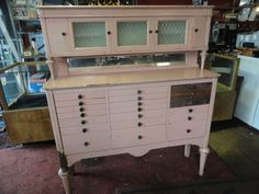 ANTIQUE  DENTAL CABINET ACCEPTING OFFERS !!