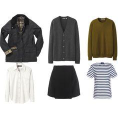 5 piece French wardrobe inspiration