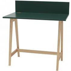 Luka Writing Desk 110cm Ragaba • WOO .Design Wooden Drawers, Study Space, Cable Management, Writing Desk, Foot Rest, Home Office, Design, Cord Management, Desktop