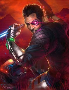 Sgt. Rex Power Colt from Far Cry 3: Blood Dragon.