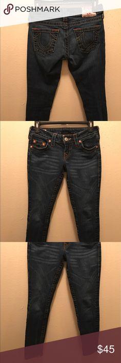 """True Religion Jeans 26 """"Stella ankle jean"""" True Religion Jeans 26 """"Stella ankle jean"""" no flaws like new condition! True Religion Jeans Ankle & Cropped"""