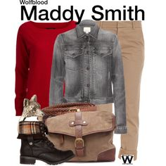 Inspired by Aimee Kelly as Maddy Smith on Wolfblood.