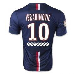 6eb0c62c28e PSG FC 2014-15 Season Ibrahimovic  10 Home Soccer Jersey  A728  Cheap