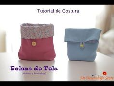 Tutorial DIY para hacer una bolsa para la ropa interior o la muda de bebe I Pinafili films - YouTube Films Youtube, Diy Projects To Try, Sewing Projects, Sewing Machines Best, Fabric Bins, Clutch Bag, Pouch, Quilts, Purses