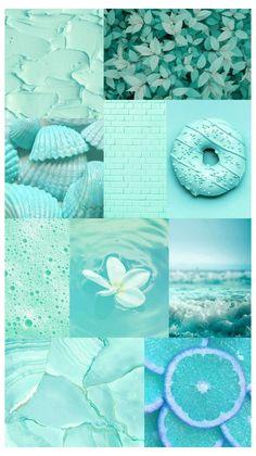 mint color wallpaper iphone