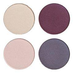 IDUN MInerals eye shadow palette STYVMORSVIOL  - purple quartet