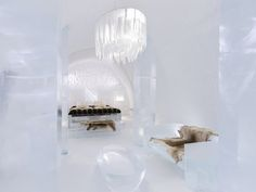 The Art Suites at Sweden's Icehotel 25 are amazing.