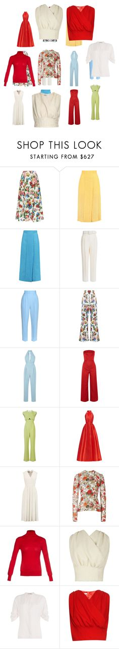 """Untitled #3309"" by luciana-boneca on Polyvore featuring Emilia Wickstead, women's clothing, women's fashion, women, female, woman, misses and juniors"