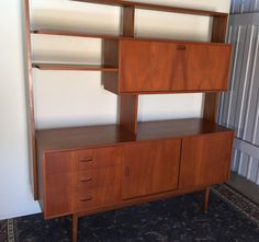 Mid-Century Genuine Retro Teak Sideboard Room Divider Carricks | Home & Garden, Furniture, Sideboards & Buffets | eBay!