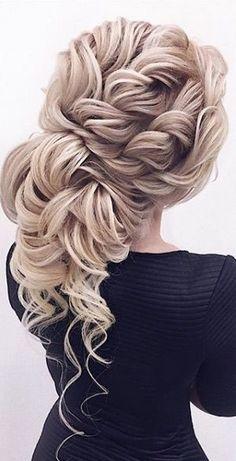 Wedding Hairstyle Inspiration - Elstile (El Style) #weddinghairstyles